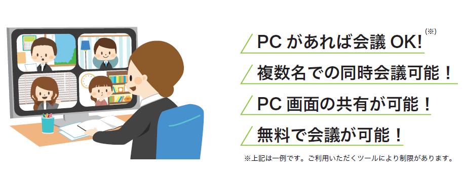 WEB 会議イメージ画像