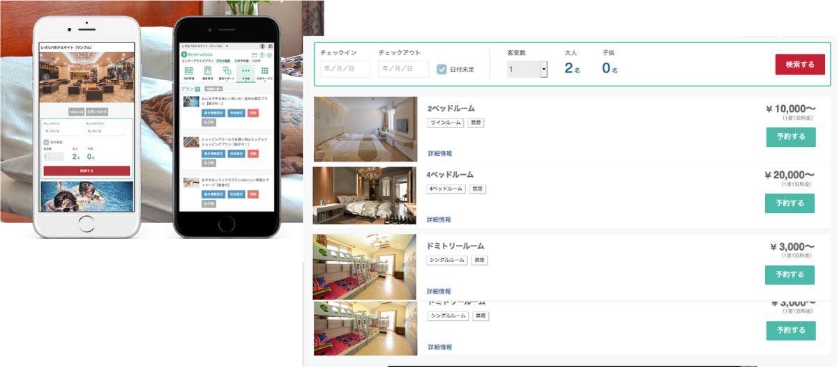 宿泊業向けイメージ画像